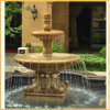 Carved Marble Water Fountain for Garden Outdoor (YKOF-32)