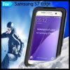Полным загерметизированная телом водоустойчивая Dirtproof крышка случая Snowproof прочная для края галактики S7 Samsung