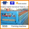 機械を形作る金属カラー屋根ふきロール