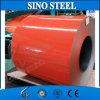 El color de PPGI Ral prepintó la bobina de acero de Galvanied