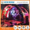 Pantalla LED de fondo de escenario de concierto con formas creativas múltiples
