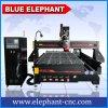 Máquina de estaca 3D de madeira de Ele 1530, ô maquinaria de madeira do CNC com o auto controlador do cambiador da ferramenta