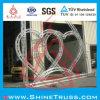 Fase Furniture Heart Shape Truss per Western Wedding Decoration