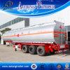 De carbón del acero 42-60 Cbm 3 del árbol de gasolina del depósito acoplado semi para la venta en africano