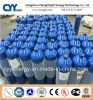 Cilindro de gás de alta pressão do aço sem emenda de Hydrogeen 150bar/200bar do dióxido de carbono do acetileno do argônio CNG do nitrogênio do oxigênio