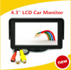 4.3 RCA avoirdupois Color Monitor Screen do LCD TFT da polegada para Car Bus SUV MPV Reverse Rear View Camera High Definition