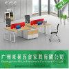 Stazione di lavoro moderna popolare del cubicolo dell'ufficio di stile con il basamento mobile