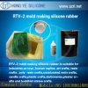 Borracha de silicone líquida de RTV para moldar dos ofícios