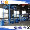 Machine de stratification d'industrie en cuir Using la colle d'unité centrale