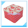 Mini rectángulo cuadrado del estaño de la galleta