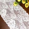 Ajustes blancos del cordón del bordado del telar jacquar para la ropa interior