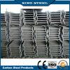 Viga de acero laminada en caliente/galvanizada Ss400 A36 S235jr de H