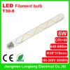 8W LED Filament Bulb (t30-8)