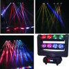 8*10W RGBW LED Spider Light Beam Moving Head