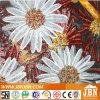 花の壁、パターンおよびせん断のガラスモザイク(P5)