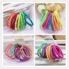 10 van de Gemengde van de Kleur Elastische stukken Ring Hairbands van de Kabel (JE1512)