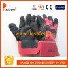 Перчатки Dlc228 безопасности кожаный перчатки черной коровы Split