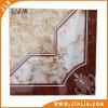 Azulejo de suelo de cerámica esmaltado mirada clásica del mármol del diseño del material de construcción