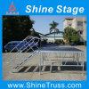 Платформа этапа, подиум этапа с по-разному высотой