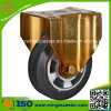 FOF Wheel Caster de 200mm Elastic Rubber Aluminum Wheel
