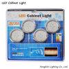 Energien-Licht-Schrank des Chrom-runde Oberfläche eingehangener Schrank-1W*4 LED