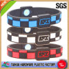 Silicone astuto Wrist Band Bracelet con Color Filled