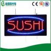 Sinal do indicador do sushi do diodo emissor de luz