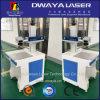 maquinaria ótica inoxidável da marca do laser do CNC da chapa de aço 50W