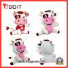 Vaca feito-à-medida chinesa do brinquedo do luxuoso do OEM com certificados