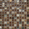 Ghiaccio Crackle Ceramic & Glass Mosaic con Stainless Steel From Cina