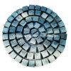 Pietra del cubo del granito G654 per la pavimentazione sulla maglia/rete