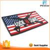 Заплата резины PVC изготовленный на заказ морального духа флага США тактического воинская