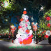 3D DEL Ball Tree Light, Chirstmas Decoration Tree