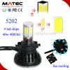 Kit de phare de voiture de G5 6000k 40W 4000lm 5202 H16 LED