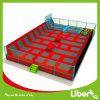 Liben usou o parque interno do Trampoline dos grandes adultos