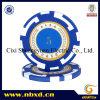 14G 2-Tone Strip Clay Poker Chip mit Custom Stickers (SY-E13)