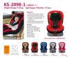 안전 아기 어린이용 카시트 Ks-2098-1 ECE R44/04 공급자 제조 Factorty 제작자 벨트 클립 유럽 기준 방석 중국은 첫째로 승압기 Infanttoddler Isofix를 덮는다