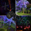 Lumière laser, lumière de Noël, exposition de lumière laser de Noël