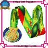 Medalha 3D personalizada com fita de impressão para medalha de maratona