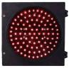 Diamètre rouge 200mm de poteau de signalisation de la bille DEL d'allée 8 pouces