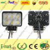 12V DC LED Work Light、Trucksのための6PCS*3W Epsitar LED Work Light、SpotまたはFoold LED Work Light