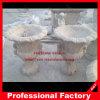 Flowerpot del granito del marmo della piantatrice intagliato pietra di pietra del vaso del giardino