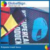 Impression imprimée de drapeau de frontière de sécurité de tissu de drapeau de maille de la publicité extérieure
