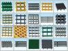 FRP/GRPによって形成される格子; ガラス繊維の格子、産業GRPの格子、