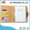 Impresión modificada para requisitos particulares del cuaderno del Alambre-o con gran calidad