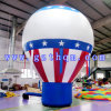 Bleu et White Inflatable Advertizing Balloons