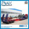 Extensible cama baja Semi-remolque / viento Hoja transporte del carro del remolque