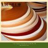 Bande de bord de PVC de meubles des graines de couleur solide et en bois