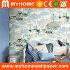 Het Behang van de Muurschilderingen van de Muur van het overzeese Landschap van de Mening voor de Zaal van Jonge geitjes