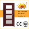 El mejor precio de PVC estándar de madera Puerta Interior Dimensiones (SC-P154)